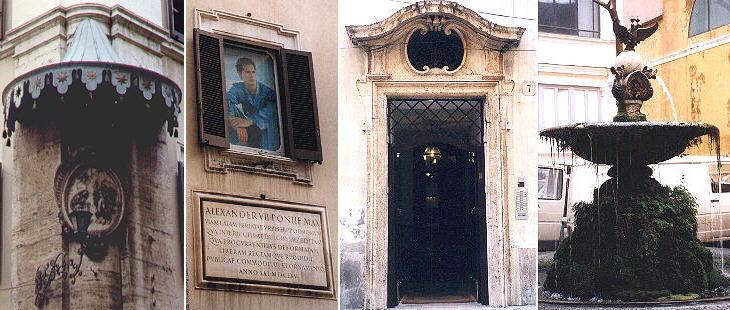 Palazzo ruspoli for Corner via del corso roma